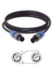 Abverkauf! Klotz 2x1,5mm² Speakon® NL2FC 5m Speaker-Kabel
