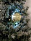 LED Snowball 8cm, gold 5x