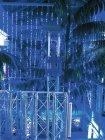 LED waterfall light 2400 grüne LEDs