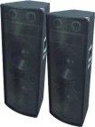 Paar OMNITRONIC TX-2520, 3-Wege Box 1400W