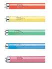 Sylvania Leuchtstoffröhre T8 18W 36W 58W Rot Gelb Grün Blau Pink Neonröhre