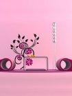 Wandschablone im XXL-Format Blumenzauber