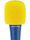 Windschutz für Mikrofone gelb