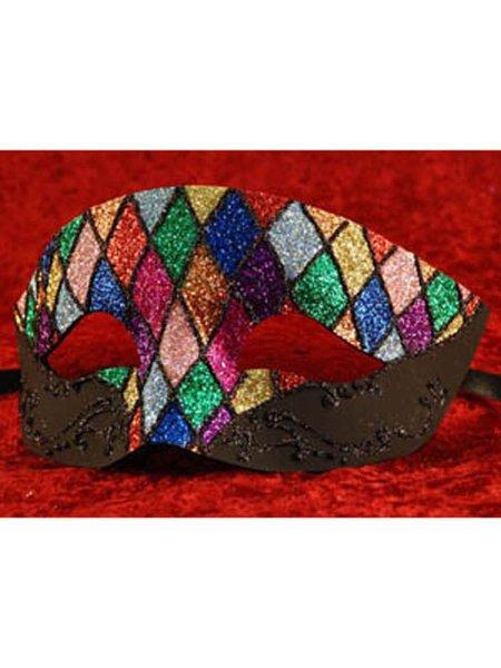 echt Venezianische Maske Augenmaske Maskenball Colombina Pergamena rosa