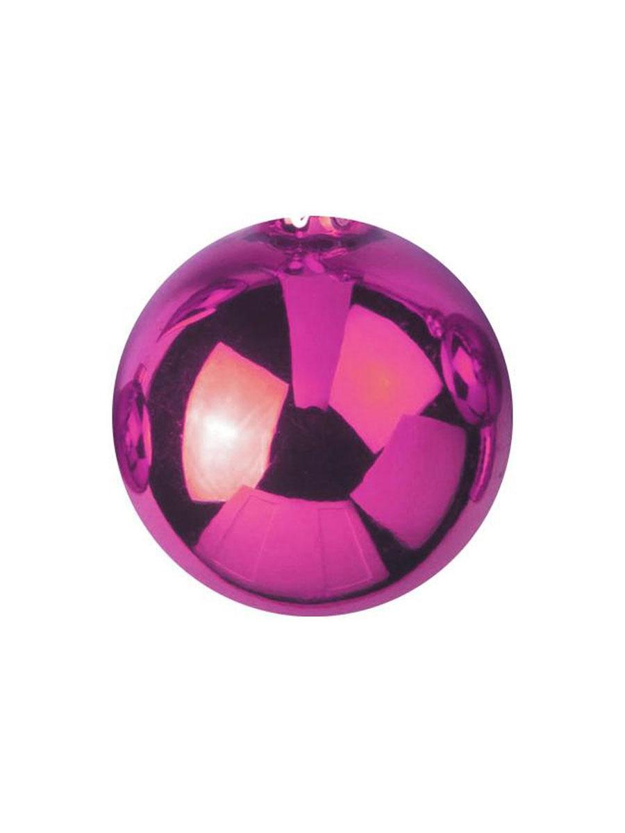 6Stk pink EUROPALMS Dekokugel 6cm metallic