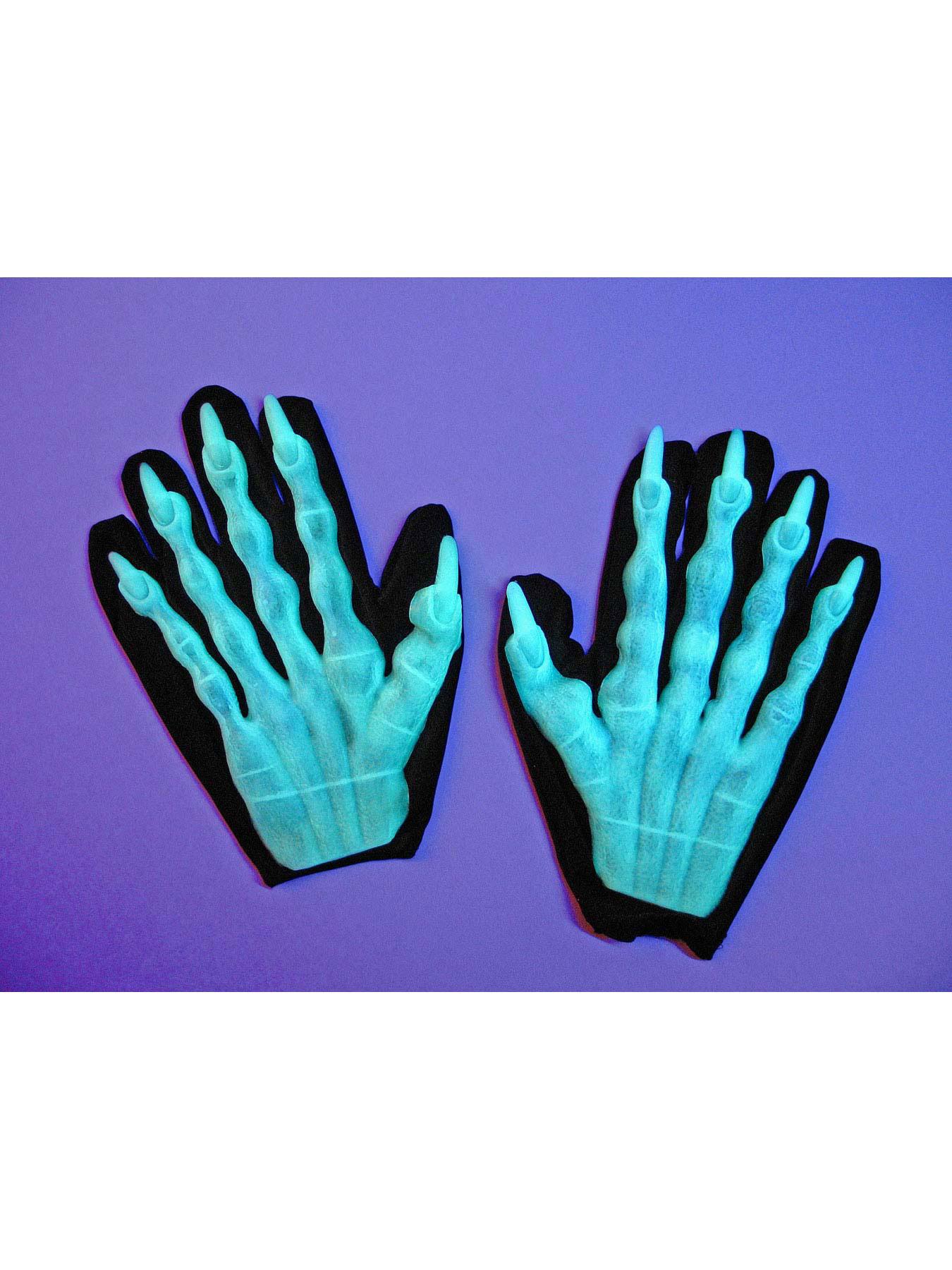 Paar Handschuhe Kurz Klassisch Accessoires Fasching