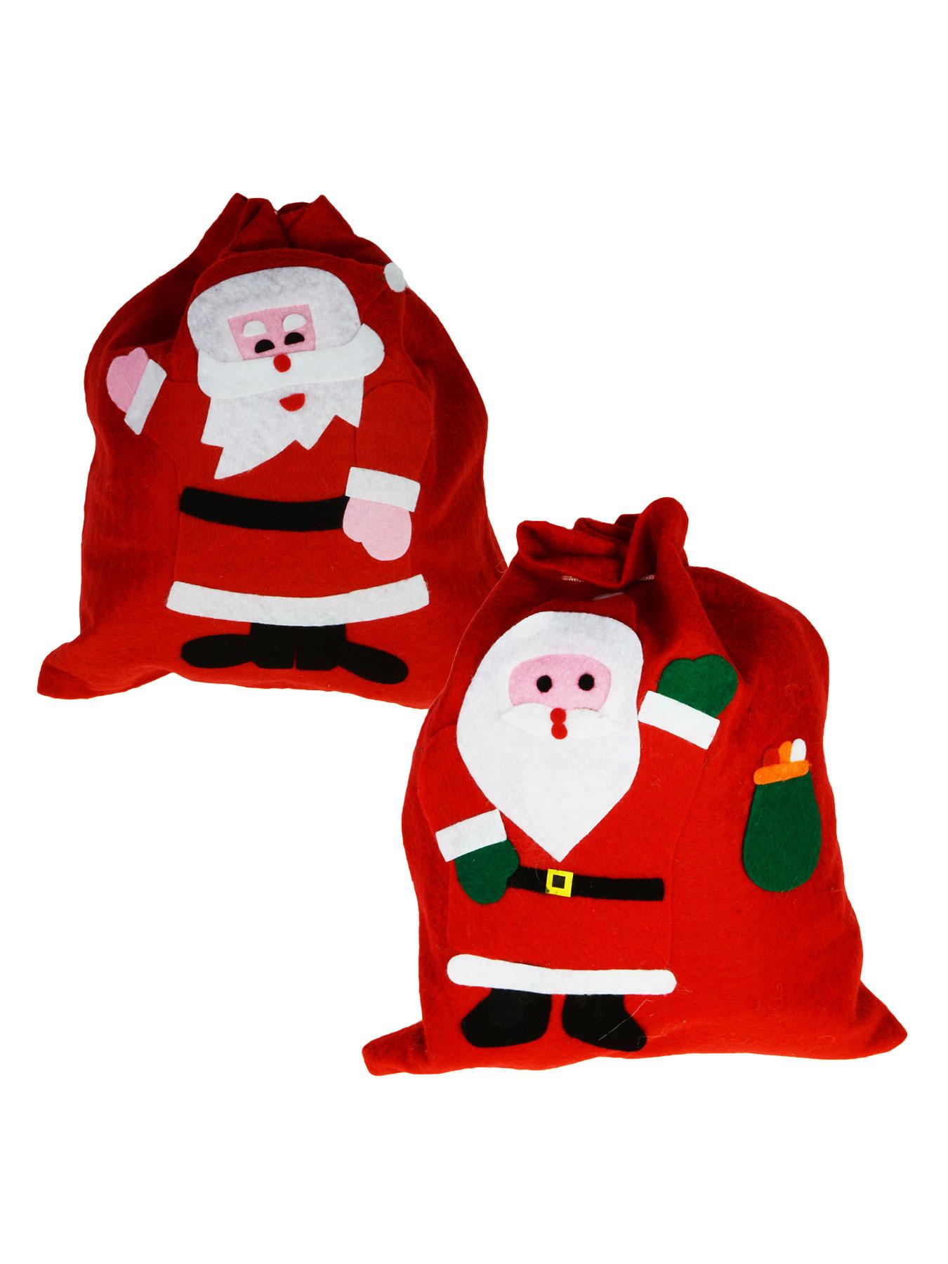 Filzbeutel Weihnachten