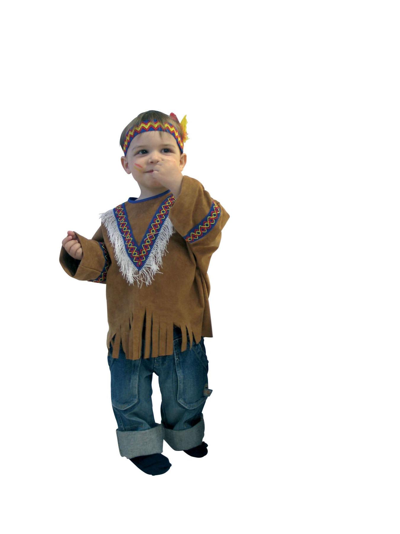 kinder kost m set indianer weste kopfschmuck fasching ebay