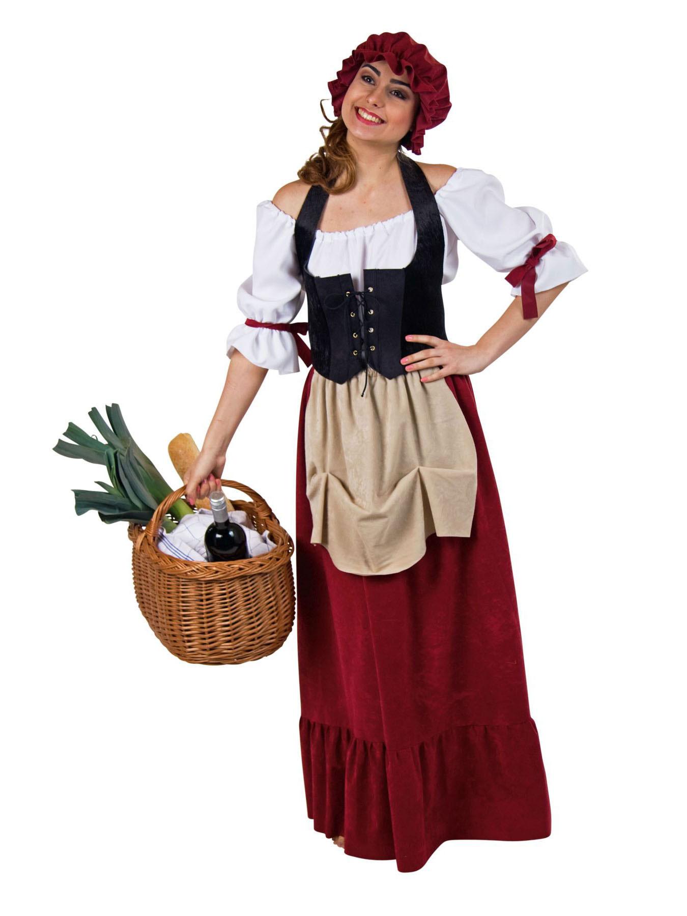 Kostum Fur Erwachsene Historisches Frauengewand Karneval Kostum Ebay