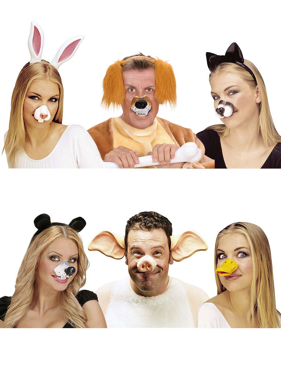 Piggy Nase Charakternase Latex Karneval Schwein Tier