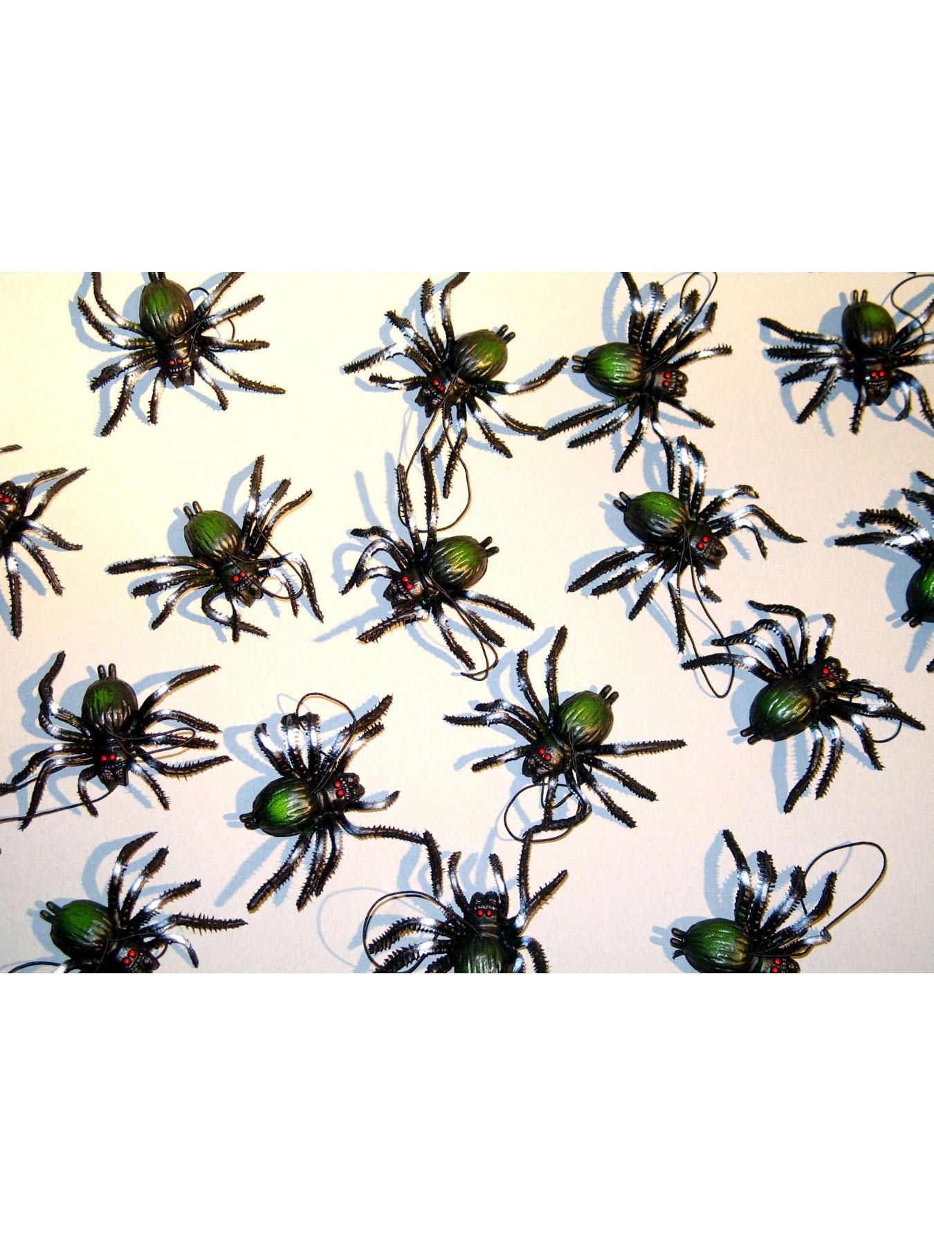 10er Pack Spinnen 7 cm 5 Modell gemischt